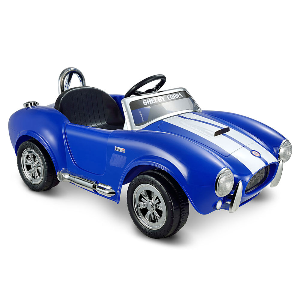 Carro Montable Electrico Recargable Shelby Cobra1 Silla 4