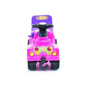 Juguete-Mi Primer Montable Jeep de Juguete para Niñas Morado 2+-1