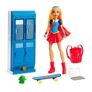 Juguetes-Muñeca de acción DC Super Hero Girls SuperGirl visión rayo-x 4+