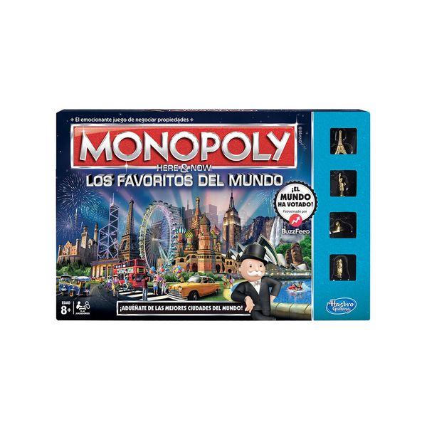 Juego De Mesa Monopoly Los Favoritos Del Mundo Hasbro 8 Monkeymarket