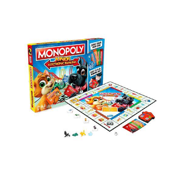 Juegos De Mesa New Monopoly E Banking Junior Hasbro Gaming 5
