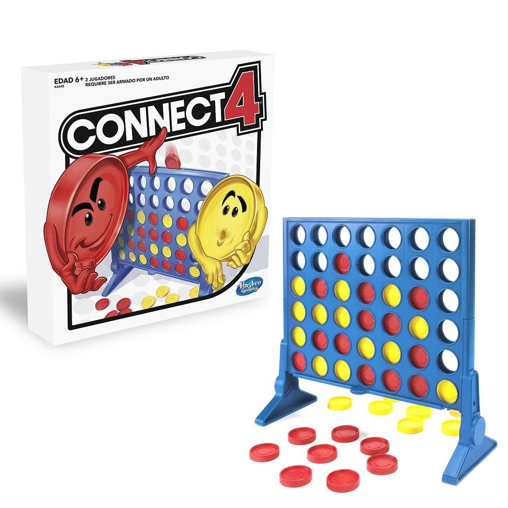 Juego De Mesa Conecta 4 Hasbro Gaming 6 Monkeymarket