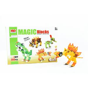 Bloques-Armables-3D--Dinosaurios-4-En-1--388-Piezas-6-