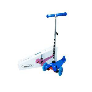 Patineta-Scooter-Aluminio-Ajustable-Llantas-Luces-Azul-3-