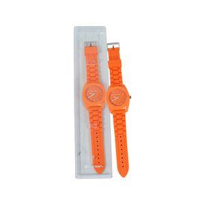 Reloj-Niño-Correa-Silicona-Naranja