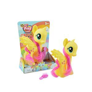 Pony-Con-Cepillito-Y-Stickers